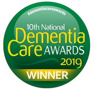 Winner of the 2019 Dementia Care Awards